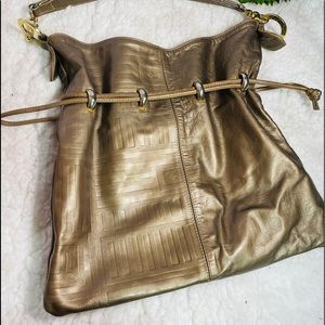 Andre Oliver soft bronze leather purse